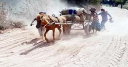 সুজানগরে ২১ কি.মি সড়কের বেহাল দশা, জনদুর্ভোগ চরমে