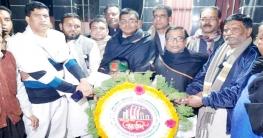সুজানগরে বিনম্র শ্রদ্ধায় ভাষা শহীদদের স্মরণ