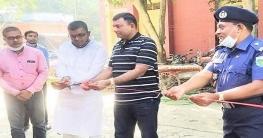 আমিনপুর থানা মসজিদের উন্নয়নমূলক কাজের উদ্বোধন