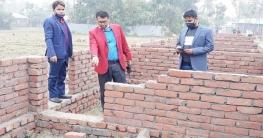 প্রধানমন্ত্রীর উপহারের নির্মাণাধীন ঘরের ভিত ভেঙে দিল দুর্বৃত্তরা