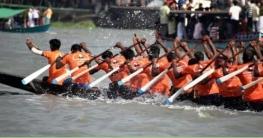 আটঘরিয়ার চিকনাই নদীতে চুড়ান্ত নৌকা বাইচ প্রতিযোগিতা অনুষ্ঠিত