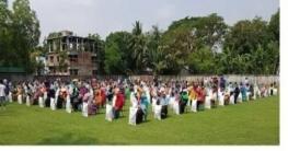 পাবনায় করোনায় কর্মহীন ৯০০ পরিবারের মধ্যে খাদ্য সামগ্রী বিতরণ