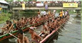 আটঘরিয়ার ঐতিহ্যবাহী চিকনাই নদীতে নৌকা বাইচ উদ্বোধন
