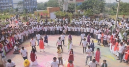 পাবিপ্রবির ৭ম ব্যাচের শিক্ষার্থীদের র্যাগ ডে উদযাপন