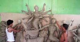 বেড়া-সাঁথিয়ায় চলছে দূর্গাপূজার প্রস্তুতি